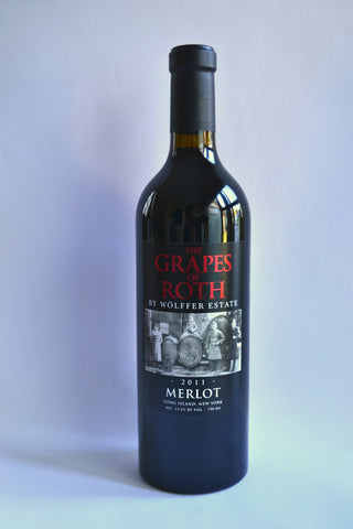 Grapes of Roth Merlot 2011