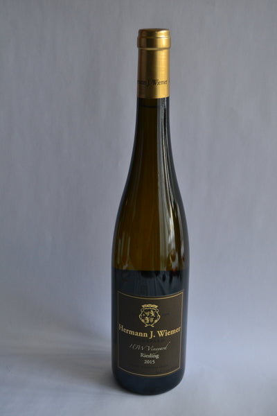 Hermann J Wiemer 'HJW Vineyard' Riesling 2015