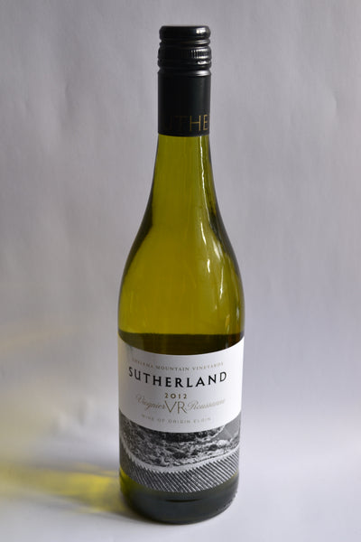 Thelema Mountain Vineyards - 'Sutherland' Viognier/Roussanne 2012