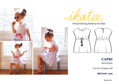 Capri Sewing pattern for girls