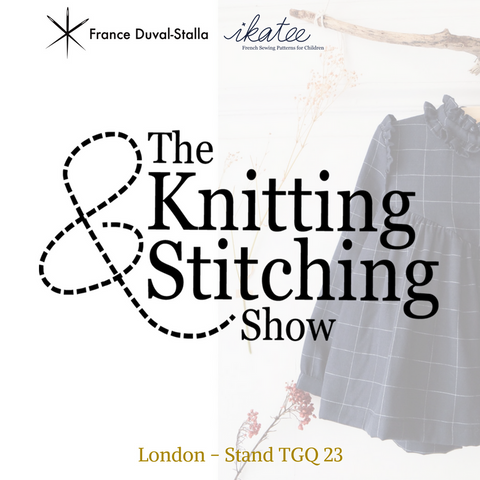 The Knitting & Stitching Show in London...coming soon