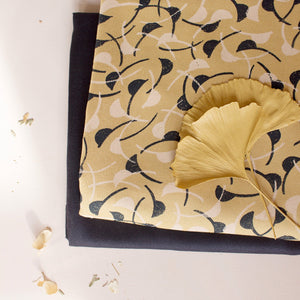 Viscose fabric ©Atelier Brunette - Windy Mustard