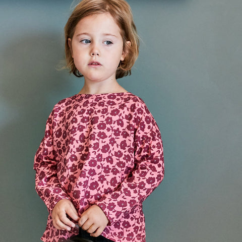 Peony top  -Girl 3/12- PDF Sewing Pattern