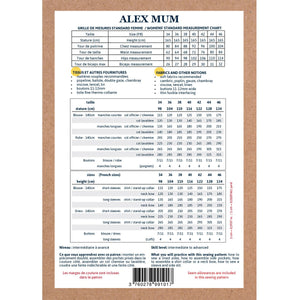 ALEX Mum - Blouse or Dress - Women 34-46 - PDF Sewing Pattern