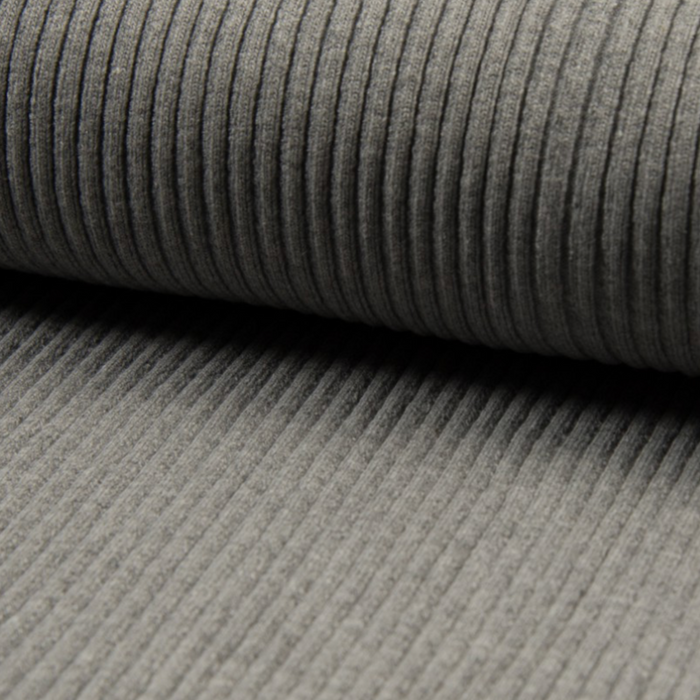 Thick Ribbing - Grey mottled