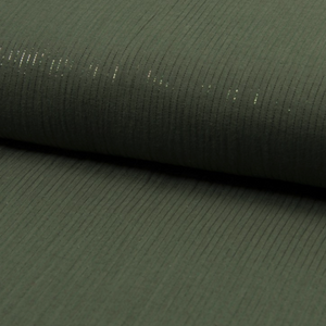 Lurex Double Gauze Fabric - Bronze