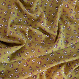 Viscose fabric creation ©ikatee - Mallow - Olive