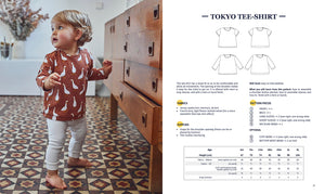 "Sewing patterns book for babies ""AT HOME"" Ebook"