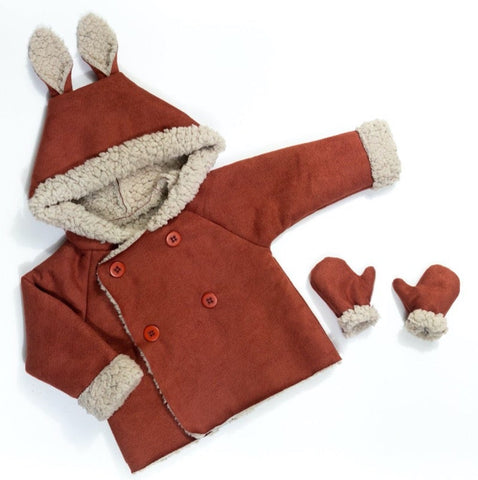 GRAND'OURSE cardigan -  Baby 6M/4Y - PDF Sewing Pattern