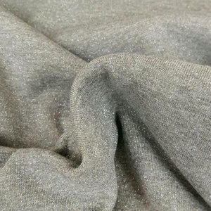 Sweat Grey lurex silver