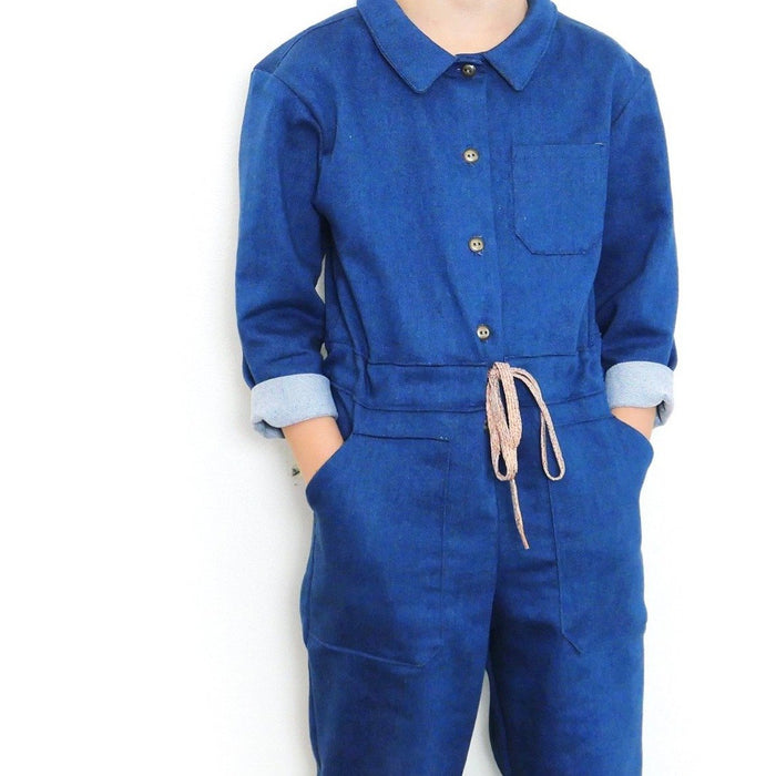 BROOKLYN Kids Jumpsuit - Kids 3/12Y - PDF Sewing Pattern