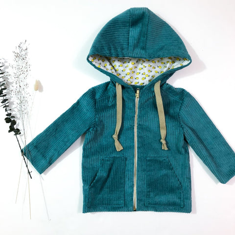 SAM - parka, jacket - Unisex 6m/4y - PDF Sewing Pattern