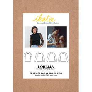 LOBELIA Tee-shirt 32-52 - Paper Sewing Pattern