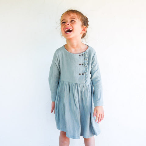 Elona- blouse & dress - Girl 3/12 - PDF Sewing Pattern