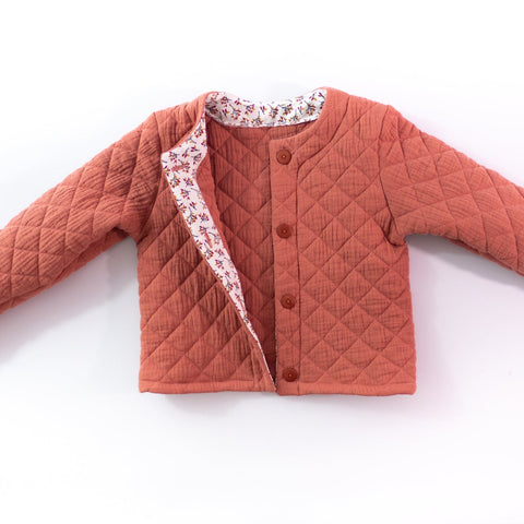 Vic unisex Cardigan - Kids 3/12Y - PDF Sewing Pattern