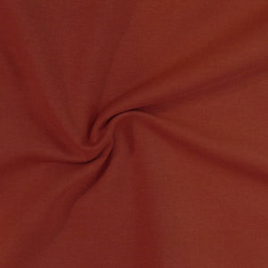 Organic Fleece GOTS - Terracotta
