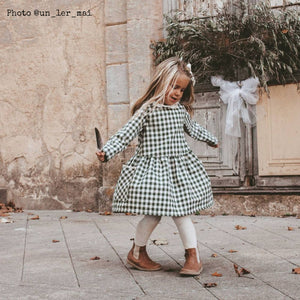 HELSINKI Kids dress - Girl 3/12Y - PDF Sewing Pattern