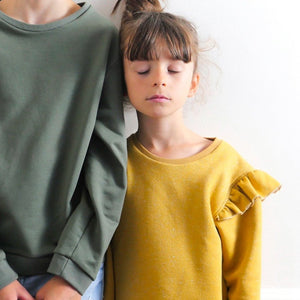 JASMIN sweatshirt/dress - kids 3/12- PDF Sewing Pattern
