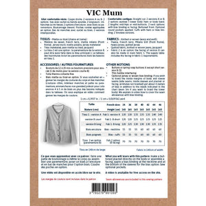 VIC Mum Cardigan - 34/46 - PDF Sewing Pattern