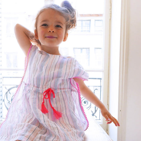 Capri girl dress sewing pattern