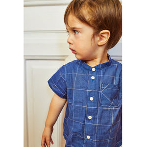 PARIS Shirt Baby 6M-4Y Paper Sewing Pattern