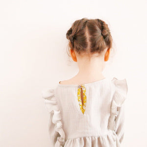 STELLA - Blouse & Dress - Girl 3/12 - Paper Sewing Pattern