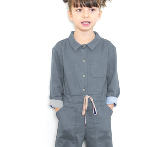 BROOKLYN Jumpsuit - Baby 6M/4Y - Paper Sewing Pattern