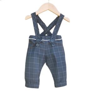 BRIGHTON pants/shorty with shoulder straps - Baby 6M/4Y- PDF Sewing Pattern