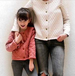 Duo VIC Cardigan - Kids/mum - PDF Sewing Patterns