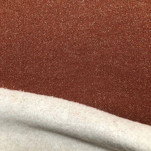 Sweat lurex - Terracotta silver
