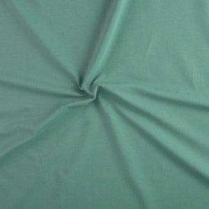 Stretch jersey - Plain - Eucalyptus