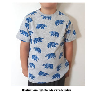 MARCEL T-Shirts Pack - Boy 3/12 - PDF Sewing Pattern