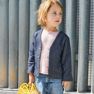 MASHA cardigan/sweater - Girl 3/12Y - Paper Sewing Pattern