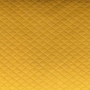 Quilted jersey - Mustard Yellow