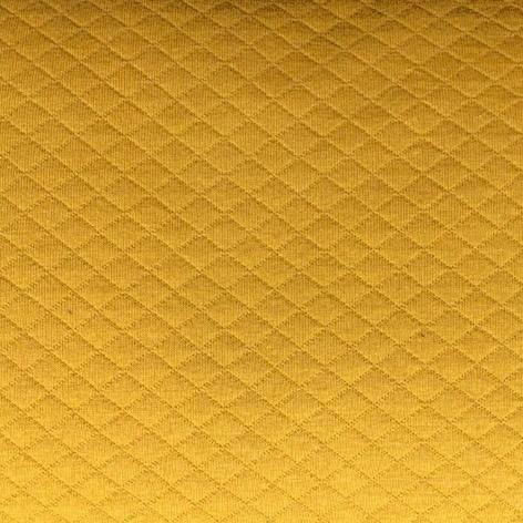 Quilted sweatshirt - Mustard Yellow