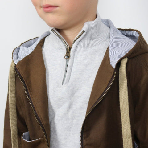 SAM kids - parka, jacket - Unisex 3/12 - PDF Sewing Pattern