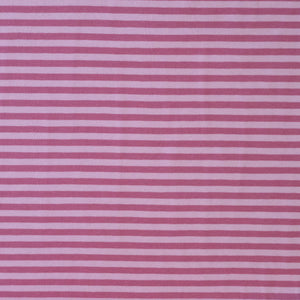 Stretch Jersey - Striped - Pink/Pale Pink
