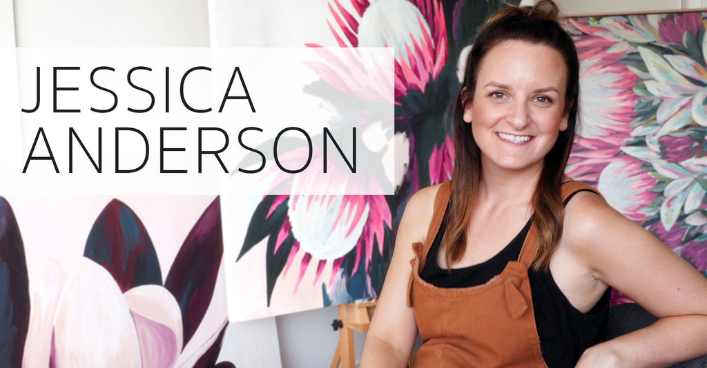 MEET THE ARTIST: JESSICA ANDERSON