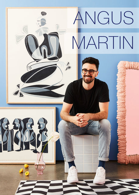 MEET THE ARTIST: ANGUS MARTIN