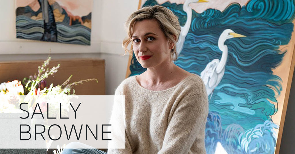 MEET THE ARTIST: SALLY BROWNE