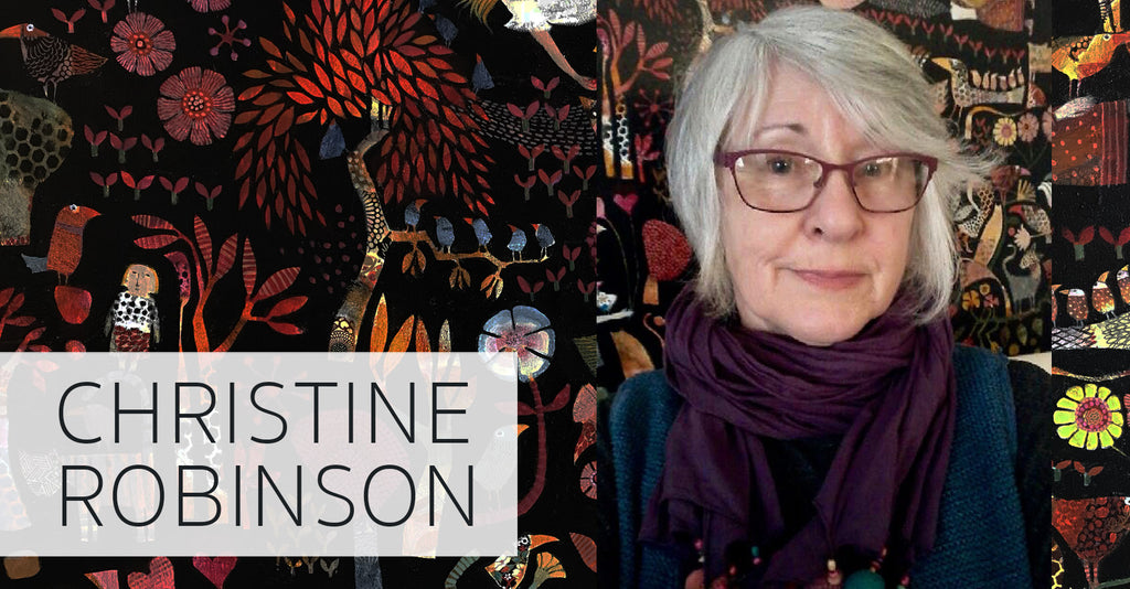 MEET THE ARTIST: CHRISTINE ROBINSON