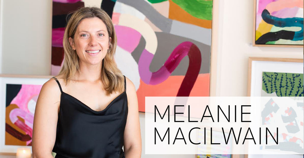 MEET THE ARTIST: MELANIE MACILWAIN