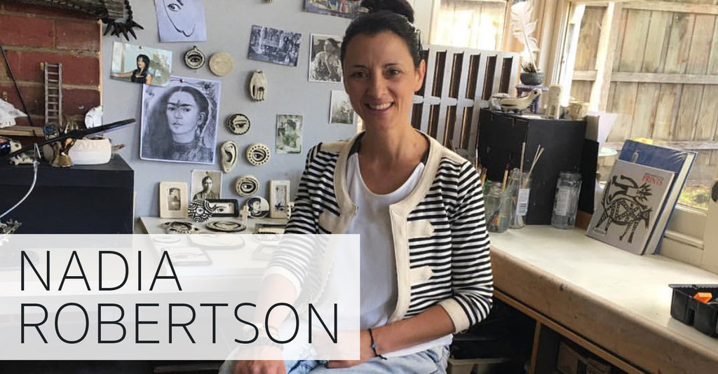 MEET THE ARTIST: NADIA ROBERTSON