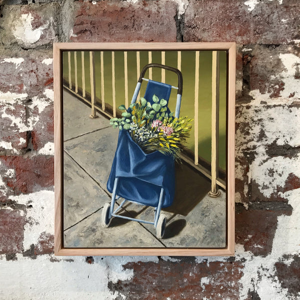 Flowers In A Shopping Trolley - MATTHEW WATTS