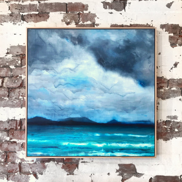 Big Clouds Little Cove - PRUE CLAY