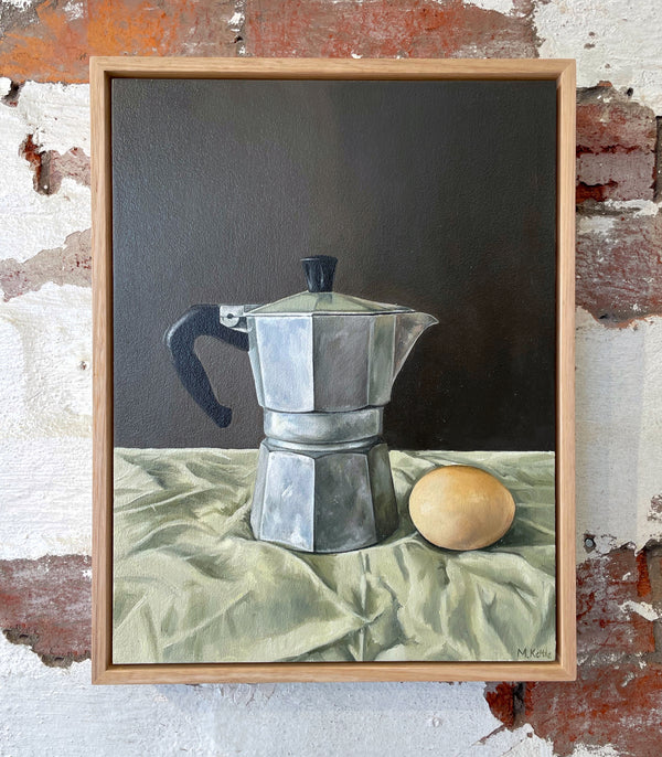 Percolator and Egg - Michelle Kettle