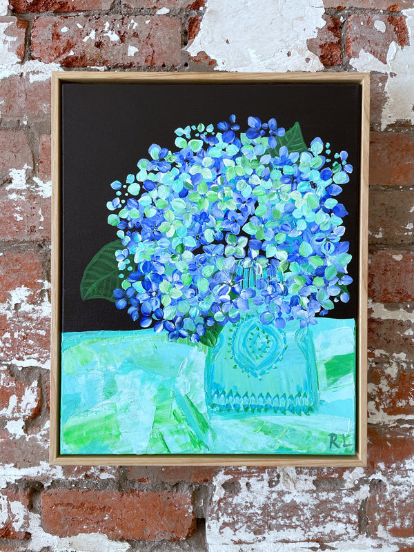 The Lone Hydrangea - Rachael Little