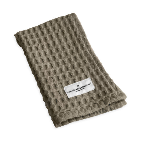 The Organic Company Clay Big Waffle Wash Cloth - BTS CONCEPT STORE