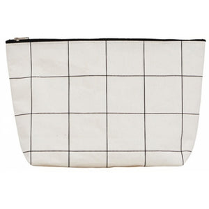 House Doctor Grid Washbag