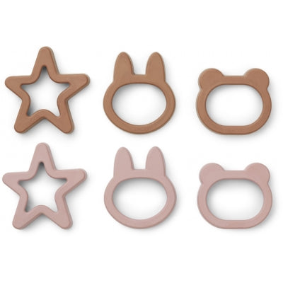 Liewood Andy Cookie Cutter 6/pack